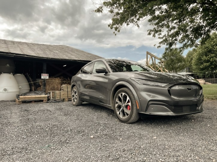 2021 Ford Mustang Mach-E in Carbonized Gray Metallic