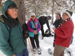 March 7/17 – Snowshoeing
