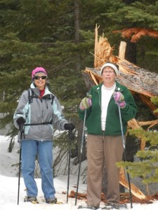 March 30/17 – Snow Shoeing