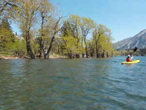 May 16/18 – 1st kayaking