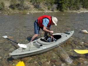 July 6/18 – Kayaking St. Mary River