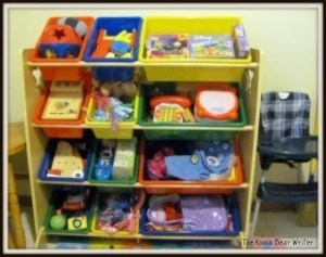 Toy Storage for the Neat-Freak Mom