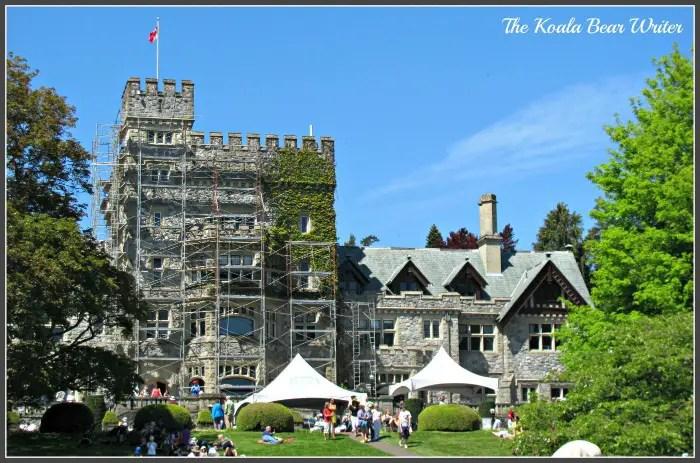 Hatley Castle Front
