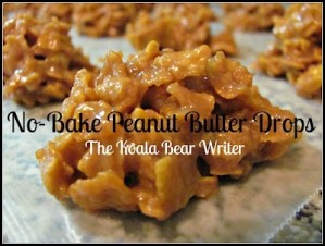 No-Bake Peanut Butter Drops