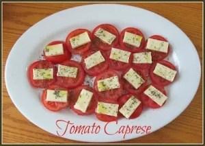 Recipe: Tomato Caprese