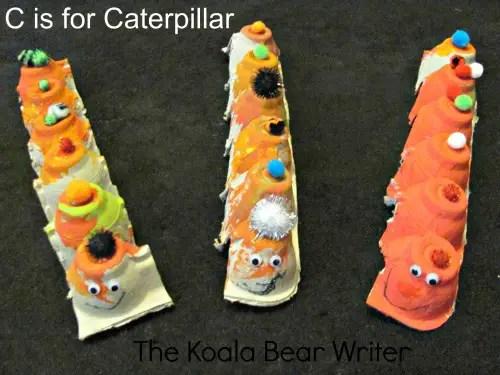 Egg-carton Caterpillars