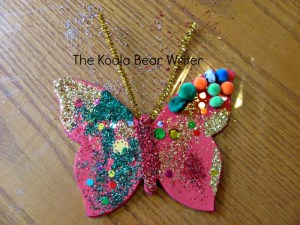 Glittertastic Butterfly Craft for Creative Preschoolers