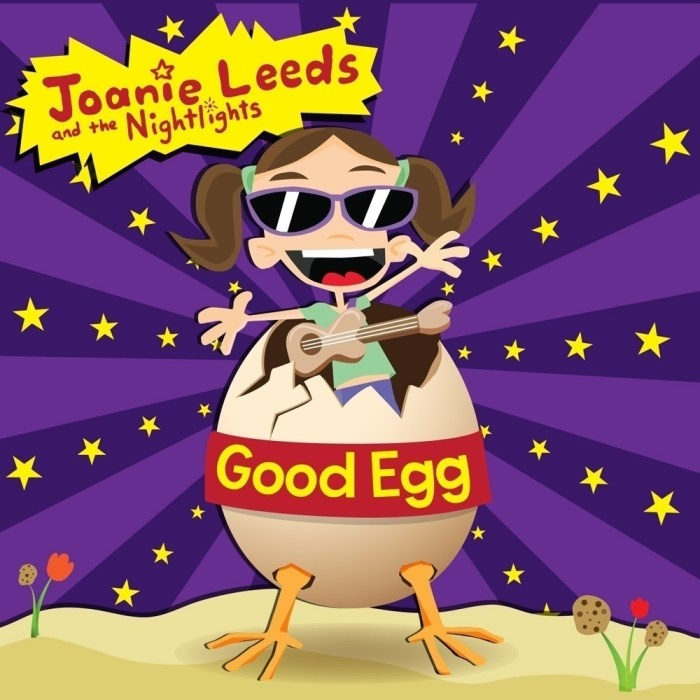 Good Egg CD cover by Joanie Leeds and the Nightlights