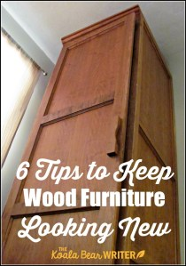 6 Tips to Keep Wood Furniture Looking New