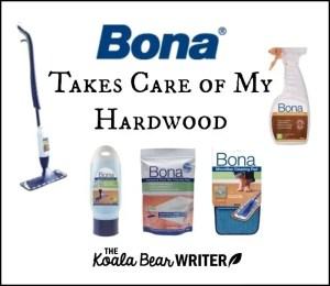 Bona Takes Care of My Hardwood Floors