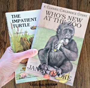 My Favourite Canadian Books: Janette Oke's Animal Friends