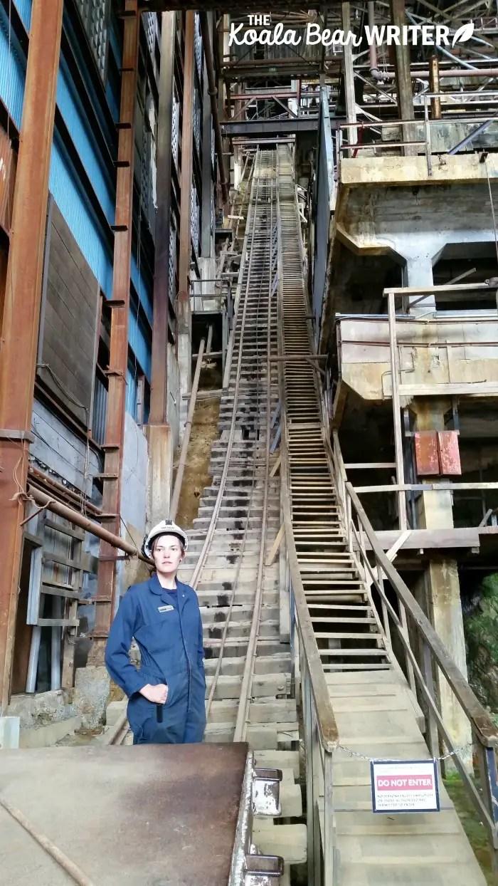 Britannia mine proccessing facility