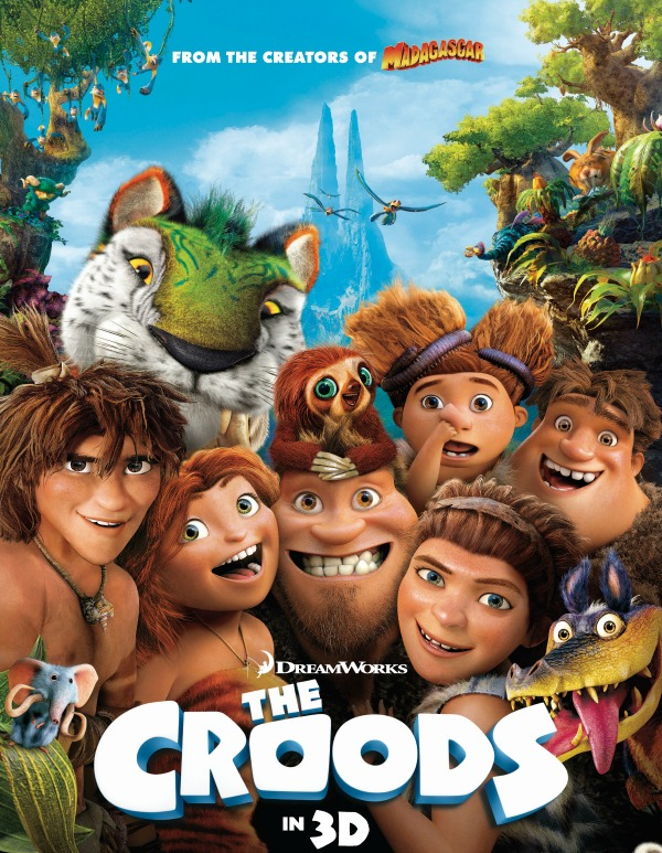 The Croods - one of my favourite father-daughter movies
