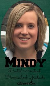 Homeschool Interview: Mindy, Dental Assistant