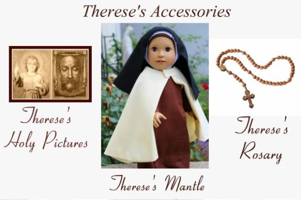 St. Therese's doll accessories