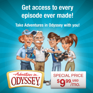 Get Access to Every 'Adventures in Odyssey' Episode Ever!