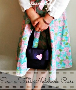 Sew a Felt Notebook Case