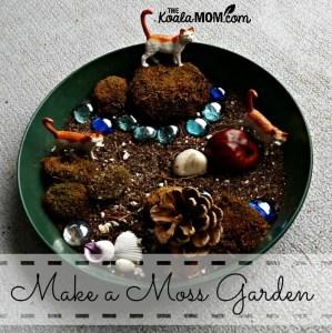 Make a Moss Garden