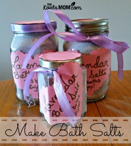 Make Bath Salts