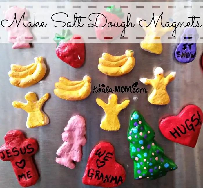 Make Salt Dough Magnets