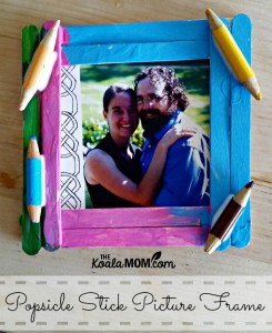 Make a Popsicle Stick Picture Frame