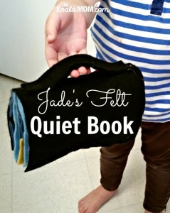 Jade's Felt Quiet Book