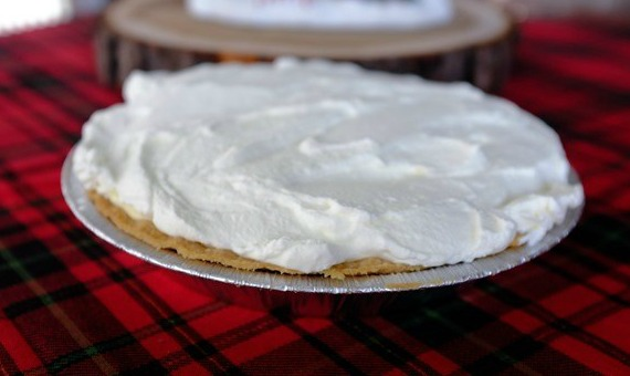 Eggnog pie from MBA Mama Musings