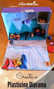 Create a Plasticine Diorama