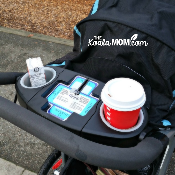 Graco FastAction Fold Jogger Travel System with coffee cup holders