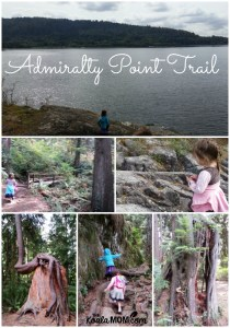 Admiralty Point Trail in Belcarra Regional Park