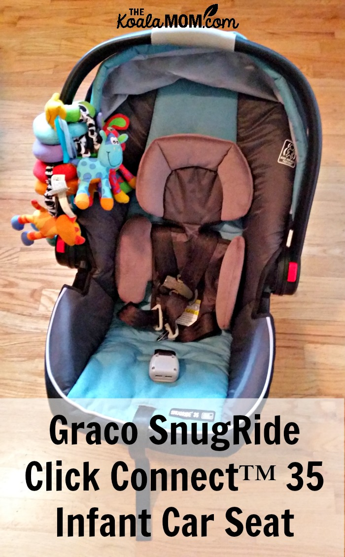 graco snugride click connect 35 infant car seat the koala mom. Black Bedroom Furniture Sets. Home Design Ideas
