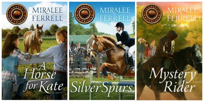 Horses and Friends series by Miralee Ferrell