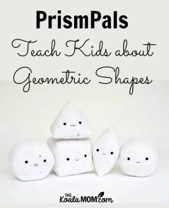 PrismPals Teach Kids about Geometric Shapes