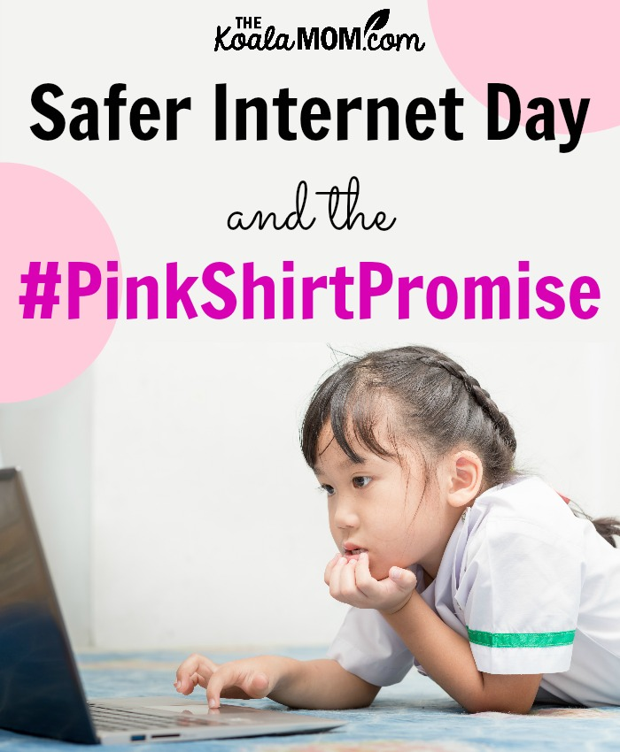 Safer Internet Day and the #PinkShirtPromise