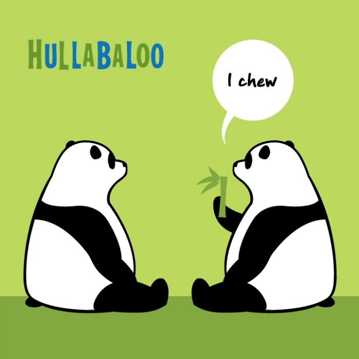 Hullabaloo's 12th album, I Chew