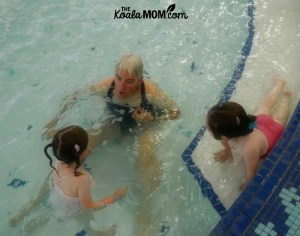 Sunshine Starts Swim Lessons