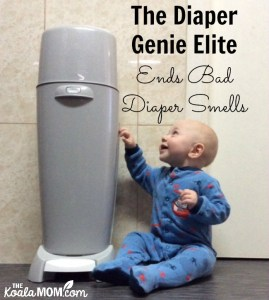 The Diaper Genie Ends Bad Diaper Smells