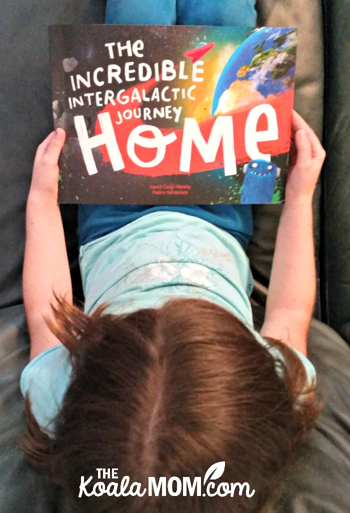 The Incredible Intergalactic Journey Home by Lost My Name - #1 on my list of kids books about moving