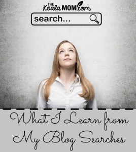 What I Learn from My Blog Searches