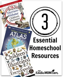 3 Essential Homeschool Reference Books