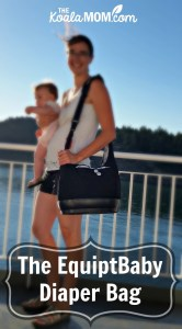 The EquiptBaby Diaper Bag—a Stylish, Practical Bag for Moms