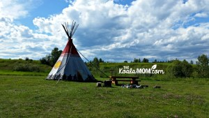 Heritage Camping at Rocky Mountain House National Historic Site