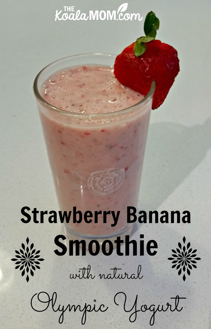 how to make a fruit smoothie with milk and yogurt