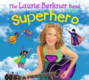 Superhero CD by the Laurie Berkner Band