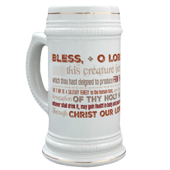 Blessed Beer Stein