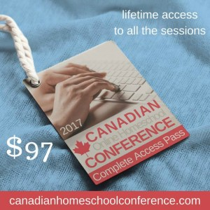 The Canadian Online Homeschool Conference: Inspiration at your fingertips