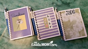 DIY Road Trip Notebooks for Kids 3-9
