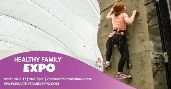 Healthy Family Expo is a great place to let the kids be ACTIVE!
