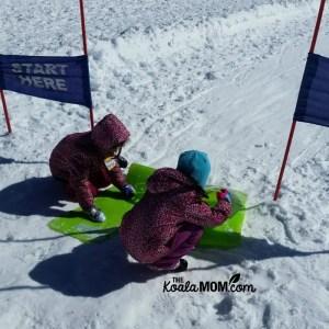Sledding at Mount Seymour Ski Resort is SNOW much fun!
