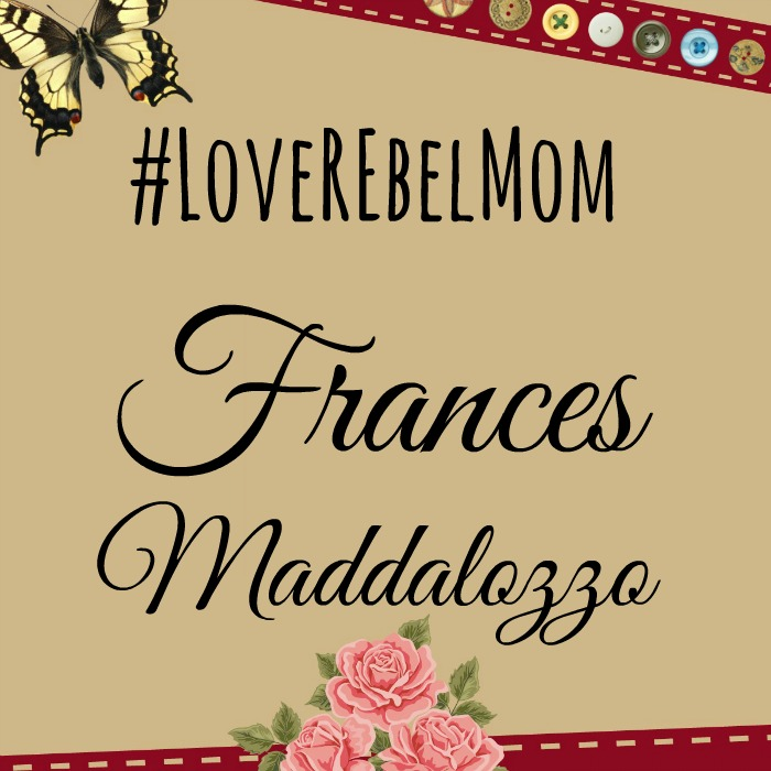 LoveRebelMom Frances Maddalozzo shares advice on perfectionism and parenting